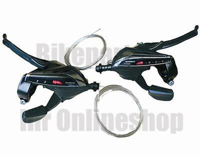 Shimano Gear shifter Brake lever 24 Speed R/L 3x8 ST-EF65 Switching brake handle