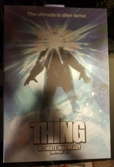 NECA The Thing Ultimate Macready Figure (Outpost 31)