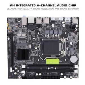 P55-Socket-LGA1156-Motherboard-DDR3-SATA-USB-RJ45-PCI-E-X16-DIMM-Slot-Mainboard