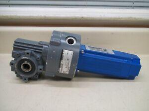 Kollmorgen-Bauer-VLM23D-ALNR-00-BS02-84-C-IEC63-SP-Worm-Gear-Servo-Motor-Assy