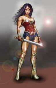 View Wonder Woman Pinup  PNG