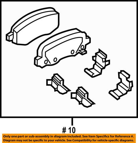 Jeep CHRYSLER OEM 15-18 Renegade Brake-Rear Pads 68289634AA