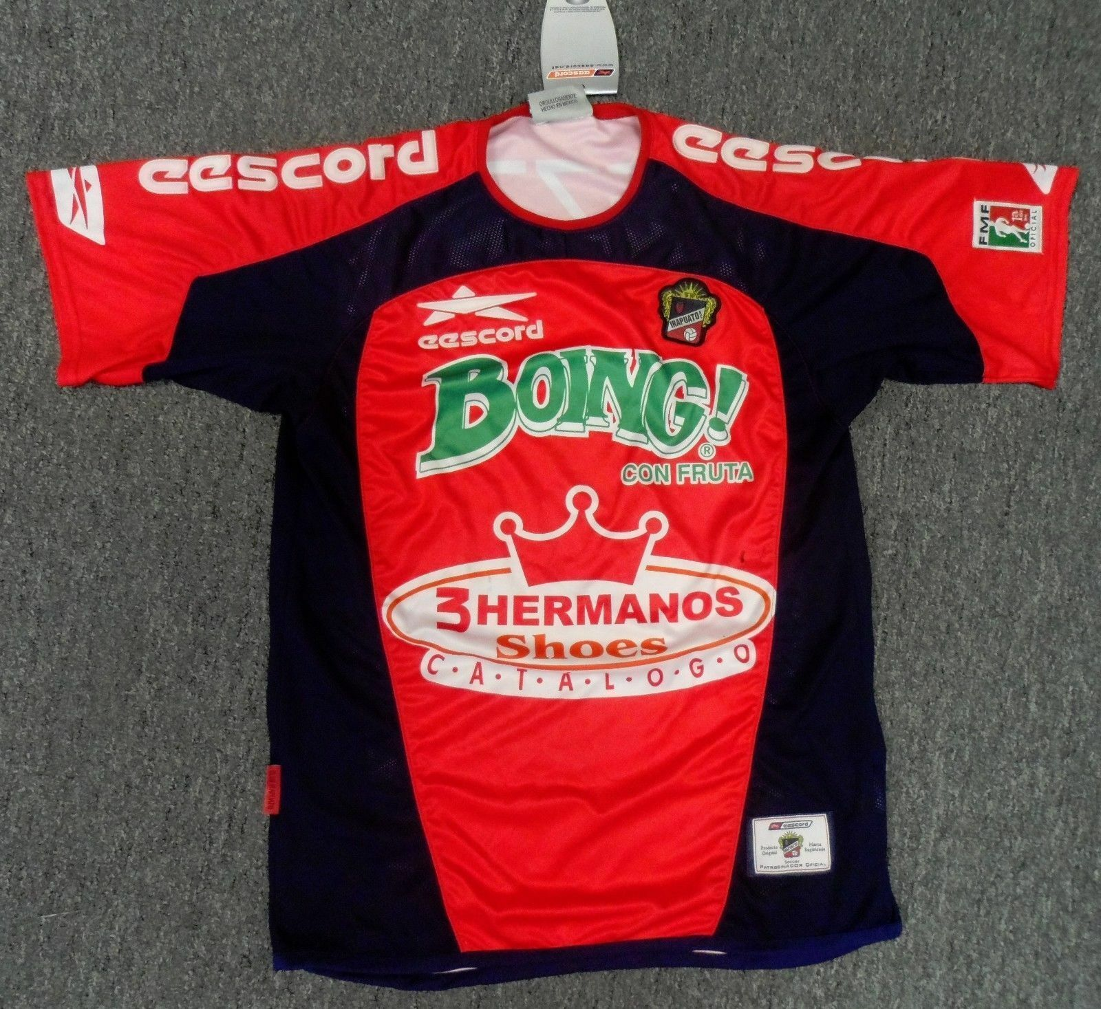 Official eescord Authentic Irapuato Soccer Jersey Size L