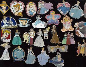 19-Disney-Pin-Pins-Walt-Disney-World-Disneyland-AUSSUCHEN-Cinderella