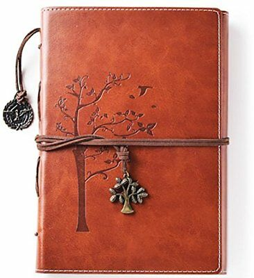 Beautiful Vintage Faux Leather Writing Journal Refillable Diary Notebook Gift 700697116212 Ebay