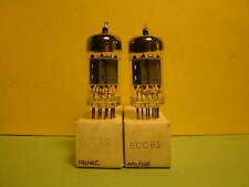 ECC82 PAIR TUBE AUDIO NOS WB EQ. MULLARD  E82CC CV4023 12AU7 12AU7WC 6067 B329