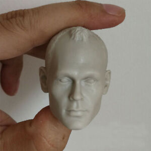 Blank Hot 1//6 Scale The Myth General Jackie chan Head Sculpt Unpainted Fit 12/""