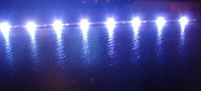 2x 60cm ULTRA THIN BLUE Audi R8 flexible led strip side lights