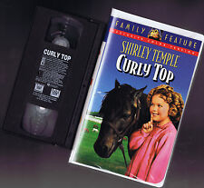 CURLY TOP Shirley Temple (colorized - VHS) 20th Cent. FOX Video in a Big case