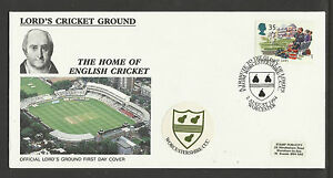 GB 1994 SUMMERTIME LORD'S CRICKET GROUND FDC Worcestershire Pictorial Postmark
