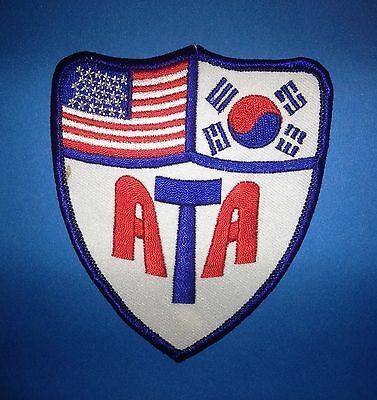 Taekwondo Tae Kwon Do Tang Soo Do MMA Martial Arts TKD Uniform Gi Patch 406