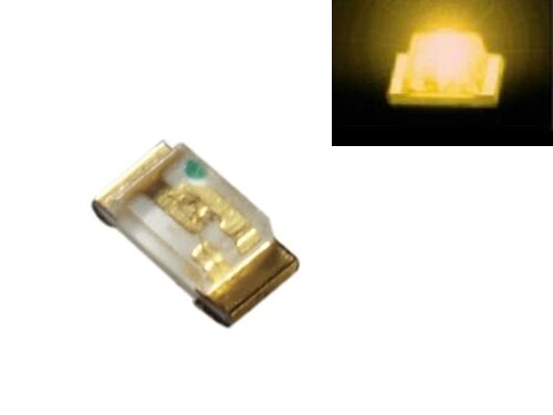 S190-100 Stück SMD LED 0603 gelb LEDs yellow