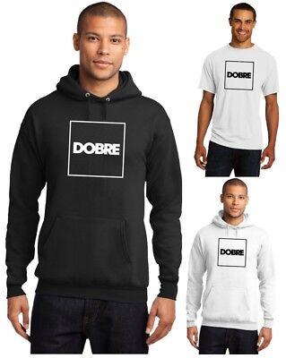 Edward Beck Youth Hooded Sweatshirt Lucas Dobre Logo Fashion Classic Style Black