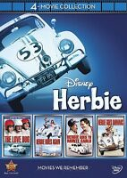 Herbie The Love Bug 4-movie Collection 4 Dvd All 4 Original Films