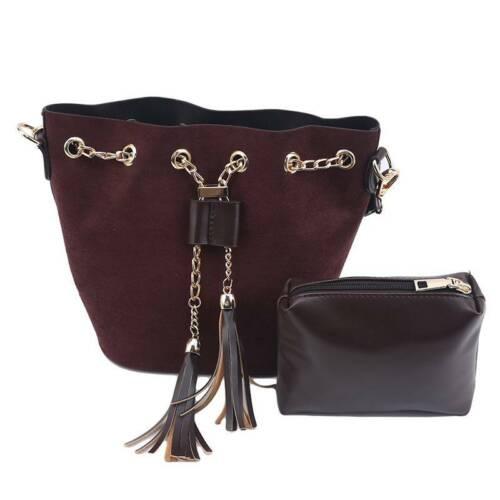 Polyester Handbags Set Messenger Bags Crossbody With Money Purse Ladies Bag HO
