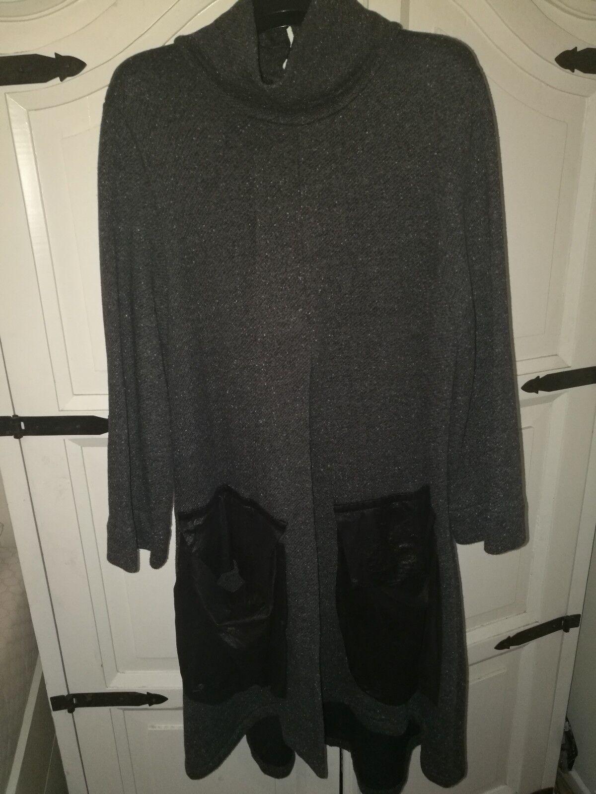 Alembika Grey Tweed Effect Ogreenop. Size 5