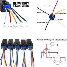 Car Auto Automotive 12v 12 Volt 30a 40a Amp 5 Pin Relay EBay - Heavy Duty 5 Pin Relay