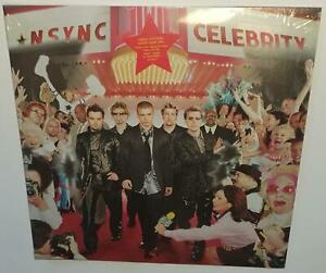 NSYNC-CELEBRITY-2018-REISSUE-BRAND-NEW-SEALED-LIMITED-EDITION-CLEAR-VINYL-LP