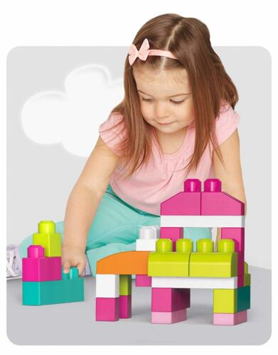 Mega Bloks Builders Big Building Buildable Bag 60 Pieces Fun Children Kids Toy