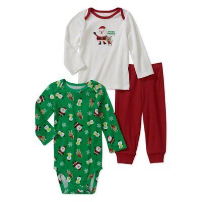 Carters Infant Boys Staying Up for Santa Christmas Fleece Pajama Set