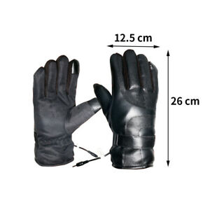Electric-Heated-Gloves-Warmer-USB-Rechargeable-Outdoor-Motorcycle-Mittens-J6U