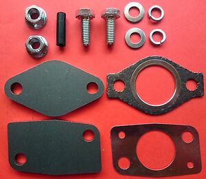 Details about EGR REMOVAL BLANKING PLATE KIT c/w GASKETS MITSUBISHI 2 8 2 5  3 2 PAJERO DELICA