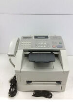 Brother Intellifax 4100e Business Class Laser Fax Machine Withtoner Working