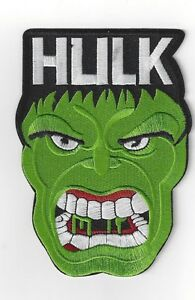 LARGER SIZED THE INCREDIBLE HULK   IRONON PATCH BUY 2 GET 1 FREE = 3 OF THESE