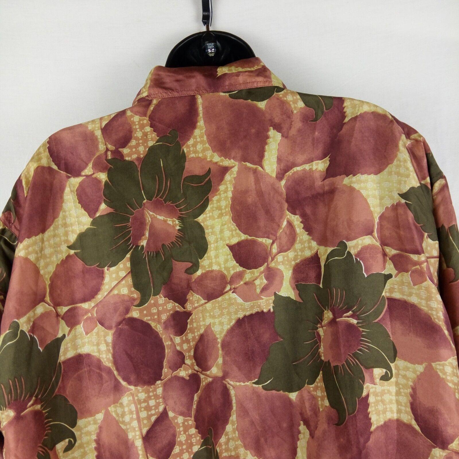 Fuda International Bomber Jacket Women Size M Pin… - image 4