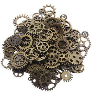 Necklaces & Pendants Glorious Zahnräder Mix Schmuck Anhänger Steampunk Fasching Gothic Basteln Kette Antik Moderate Price