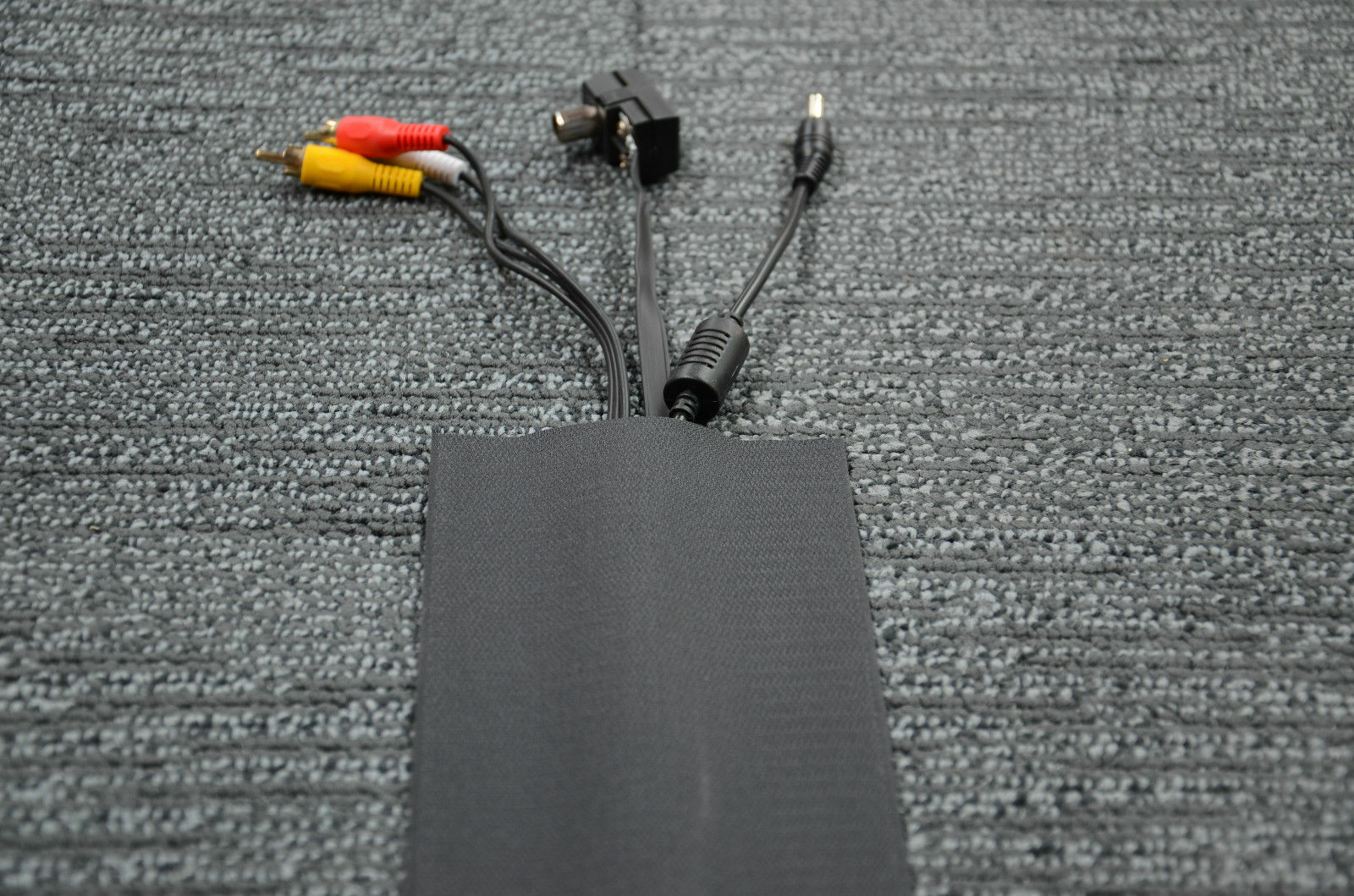 Cable Cover for Carpet - 100mm(width) x 25m(length) - Black - (C) | eBay