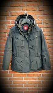 Details zu Wellensteyn Jacke Cosmo Neuwertig schwarz Größe L NP 390€ schön warm : )