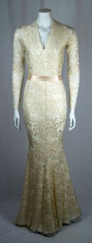 Nude Baylis Fishtail abito Manica Dita Low lungo Lace lunga abito Knight Cream Cut ZqWc1wIqS