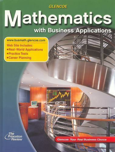 Lange Hs Business Math: Mathematics with Business Applications by Temoleon  G  Rousos, Walter H  Lange, McGraw-Hill Education Staff and McGraw-Hill