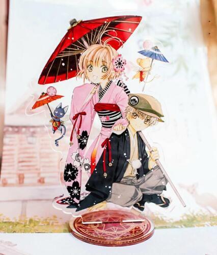 Card Captor Sakura Kinomoto Li Syaoran Kimono Acrylic Figure Desk Decal