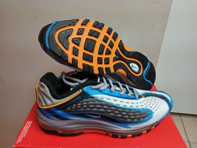 29fa28ef9f2 Men s Nike Air Max Deluxe Photo Blue Wolf Grey Aj7831 401 Size 10 ...