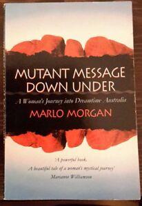 Mutant Message Down Under von Marlo Morgan - Schweinfurt, Deutschland - Mutant Message Down Under von Marlo Morgan - Schweinfurt, Deutschland