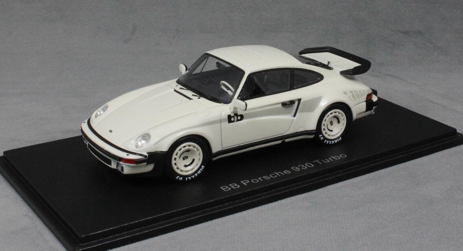 NEO Models Porsche 911 Turbo 930 quale modificato da BB TUNING IN BIANCO 46585 1/43NEW