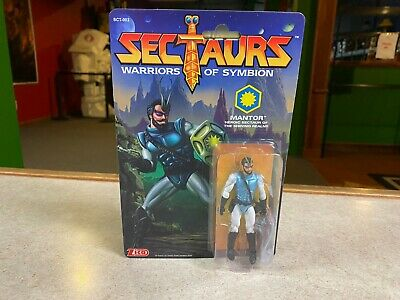 "2019 Zica Toys Sectaurs Warriors of Symbion MANTOR 4/"" Inch Figure MOC"
