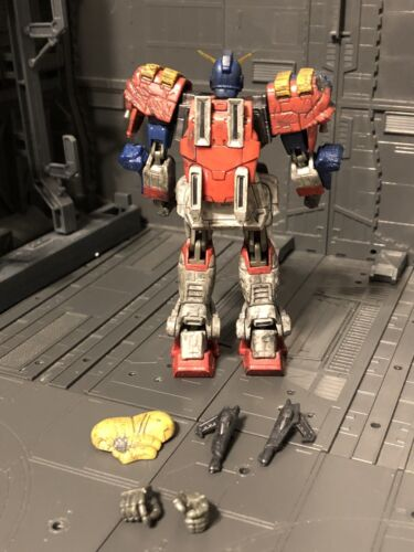 Bandai Battle Scarred Maxter Gundam Mobile Fighter Action Figure Msia Loose