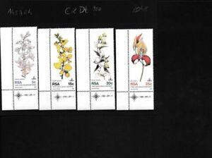 Zuid-Afrika-590-593-compleet-Kwestie-postfris-MNH-Eckrandstucke-mit-Ausgabeda