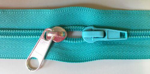 #3 Royal Blue Purse Zipper Continuous Yardage 5 yards//20 Long Pulls
