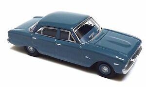 HO-GAUGE-1960-XK-SEDAN-PACIFIC-BLUE-DIECAST-IN-ACRYLIC-DISPLAY-CASE