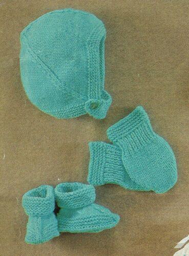 Gorros Y Guantes De Tejer Y Crochet Pattern dk. Bebé Niño Bebé Niña Bebe