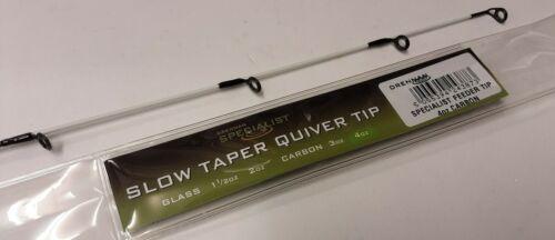 Drennan Slow Taper Specialist Feeder 4oz Quivertip