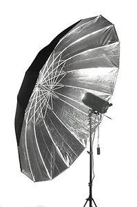 Studio-Umbrella-Silver-Black-Parabolic-Type-74-85-034-188-215cm-diameter-arc