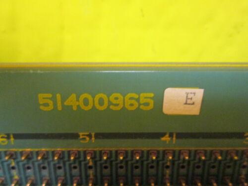Honeywell 51400965-100 E 5 Slot Module Backpanel 51400964-100 C PLC Chassis Rack