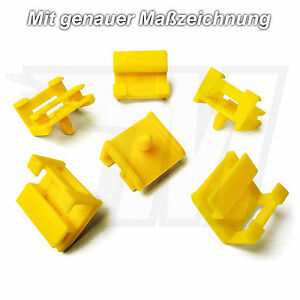 5x-MODANATURE-verkleidungsclips-fissaggio-supporto-per-BMW-51777170955