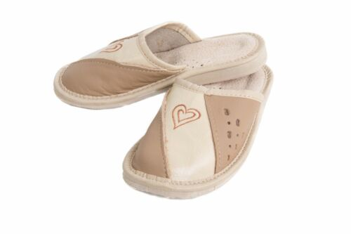 Leather Look  Comfy Children Slippers FOS03