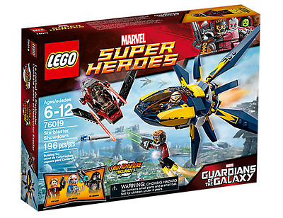 LEGO Marvel Super Heroes Guardians of the Galaxy Starblaster Showdown (76019)